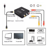 Conver Rca Av A Hdmi 1080p Dvd Directv A Tv Video Beam