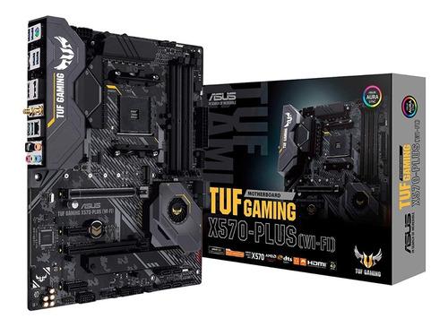 Motherboard Asus Tuf Gaming X570-plus Wi-fi Bt Am4 M.2 Hdmi