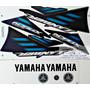 Kit Jogo Faixa Adesivo Yamaha Xtz 250 Lander 2007 Preta Original