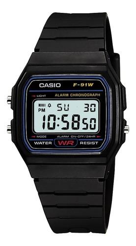 Reloj Casio F91w Caballero Retro Vintage Clasico 100%orginal