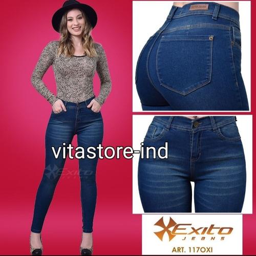 Pantalon De Jeans Elastizados Levanta Cola Éxito