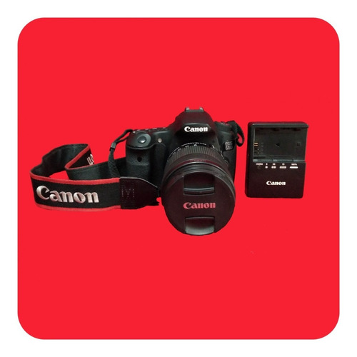 Cámara Profesional Canon Eos 60d Negra Professional Camera