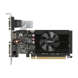Tarjeta De Video Nvidia Msi  Geforce 700 Series Gt 710 Gt 710 2gd3 Lp 2gb