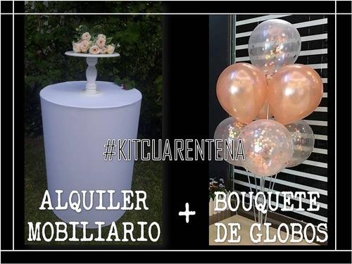 Alquiler - Kit Deco Cumpleaños A Domicilio En Cuarentena