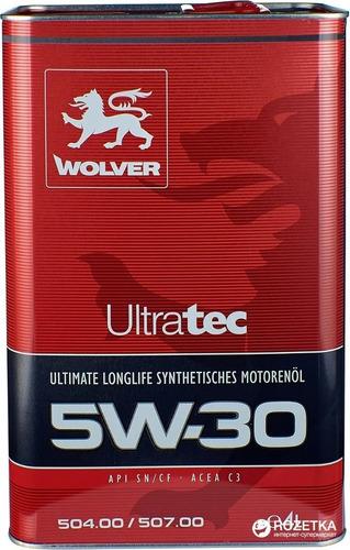 5w30 Wolver 100% Alemán Para 20.000 Km 4lt