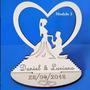 50 Lembrancinhas De Casamento Em Mdf Branco Original