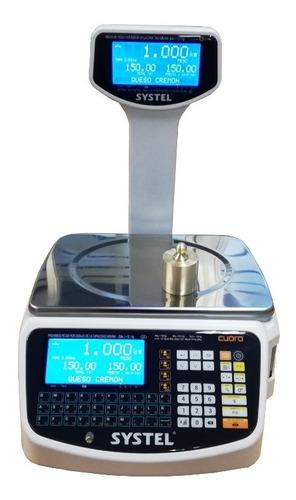 Balanza Systel Cuora Max St 30k Usb Impresor Ticket Continuo