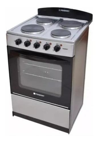 Cocina Electrica Peabody 56cm Inoxidable