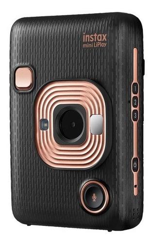 Cámara Fujifilm Instax Mini Liplay Híbrida Elegant Black