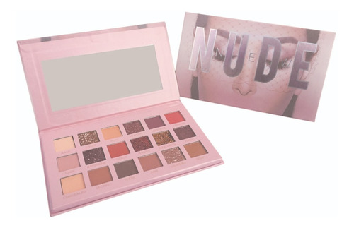 Paleta De Sombras Nude New 18 Tonos Más Aplicadores Gratis