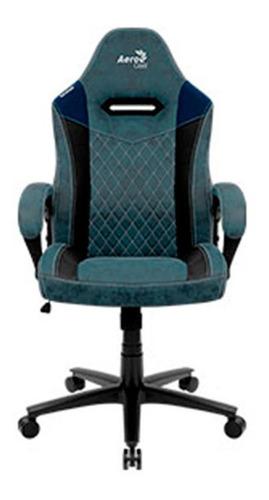 Aerocool Silla Gamer Duke Lite Steel Blue (azul)