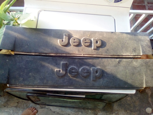 Emblema De Parachoque Delantero De Jeep Wrangler Cj7  Jeep Wrangler