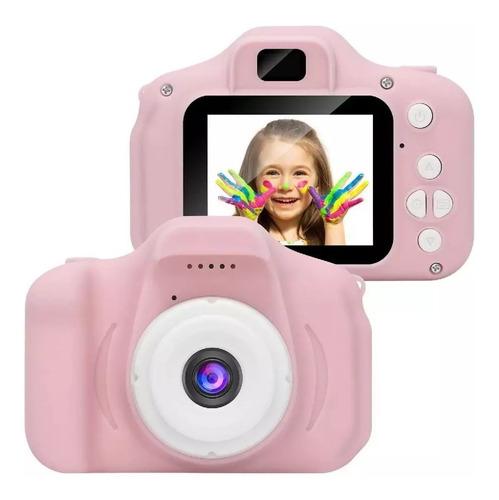 Mini Cámara Fotográfica Digital/ Portátil Para Niños Y Niñas