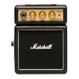 Amplificador Marshall Micro Amp Ms-2 Combo Transistor 1w Negro