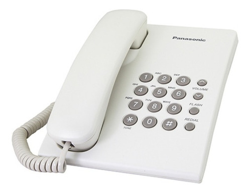 Telefono Sobremesa Panasonic T500 Blanco - Revogames