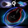 Carregador Wireless Qi Sem Fio Charger P/ Celular Universal Original