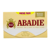 Abadie X 500 Hojas Papel De Liar Ultra Fino Local Once