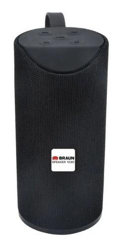 Parlante Bluetooth Portátil Inalámbrico 1030 Braun 10w