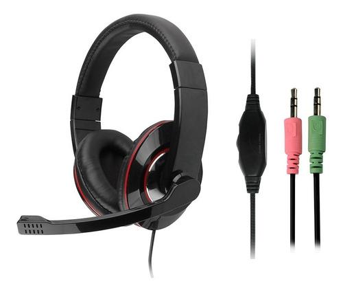 Auriculares Gamer Nisuta Ns-au80 Para Pc Con Microfono