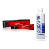 10 Tinturas Fidelite/ Color Master + 1 Oxidante  A Eleccion