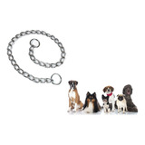 Collar Ahorque Perros Adiestramiento Paseo Eslabon