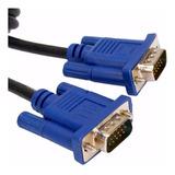Cable Vga-vga Macho-macho De 1,5mts Dob Filtro Pc Led Proyec