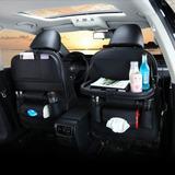 X2 Ecocuero Organizador Auto Respaldo De Asiento Portavasos