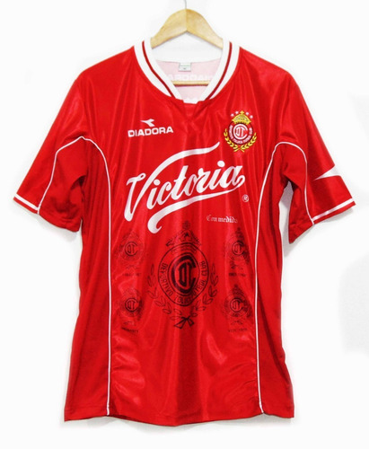 Jersey Toluca Verano 1999 Diablos Rojos Campeonato Vs Atlas