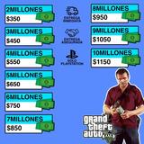 Millones En Gta V Online Solo (ps4) 10 Millones