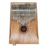 Kalimba De 17 Teclas, Instrumento Musical De Madera P/dedos