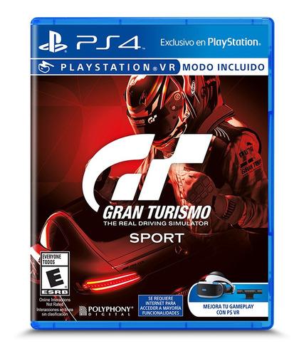 Juego Grand Turismo Sports Ps4 Nuevo Original Fisico