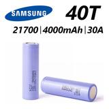 Baterías Samsung 40t 21700 4000mah 30a (2 Unidade) Original