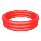 Pileta Inflable Redonda Bestway 51026 De 1520mm X 300mm 282l Color Rojo