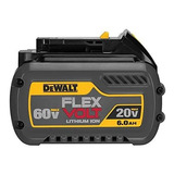 Bateria 20/60v 6.0ah Ion Litio Flexvolt