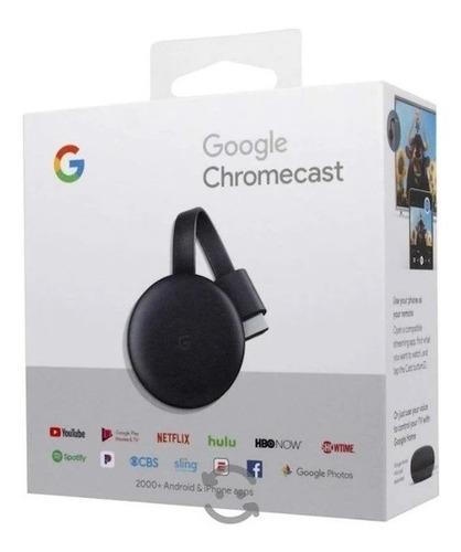 Chromecast 3 Original Lacrado  Nfe