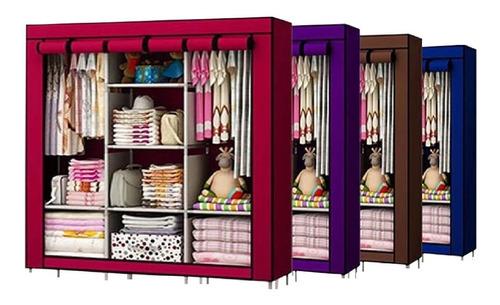 Practico Armario Closet Ropero Armable Grande + Envio Gratis