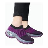 Calzado Deportivo De Mujer Transpirable Antideslizante