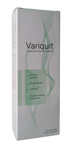 Variquit - Crema Para Varices Y Arañitas