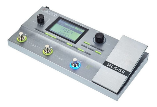 Pedalera/pedal Multiefectos Marca Mooer Ge200