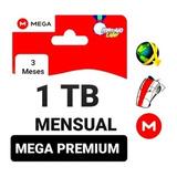 Mega Premium 1tb 1024 Gb 90 Días Envió Inmediato.