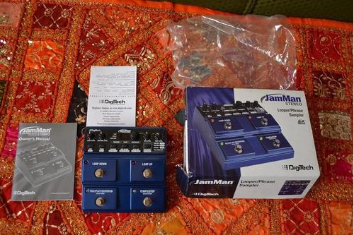 Digitech Jamman Stereo Looper En Caja