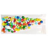 1000 Bolsas Celofán Transparente 10x20 Con Adhesivo