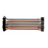 Cables Jumpers Macho Hembra 20 Cm X 40 Unidades