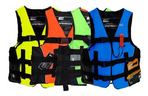 Chaleco Salvavidas Deportivo Coast 120kg En Varios Colores