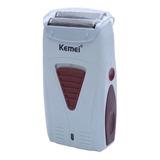 Afeitadora Kemei Km-3382 Blanca 220v