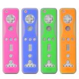 Fosmon Pack De 4 Tonos De Piel De Silicona Para Nintendo Wii