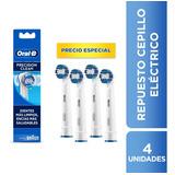 4 Repuestos Cepillo Dientes Oral-b Pro-salud Precision Clean