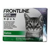 3 Pipetas Frontline Plus Gato Fpgt