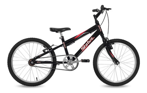 Bicicleta Rodado 20 Niño Bikes Infantiles Aro 20 Color Negro