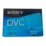 Fita De Vídeo Cassete Mini Dv Premium De 60 Min Dvm-60prr